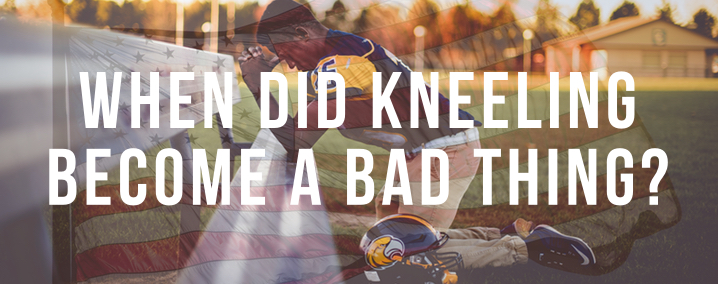 What Does the Flag Stand For When I'm Kneeling?